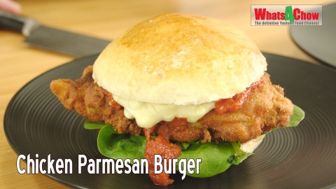 Chicken Parmesan Burger Recipe