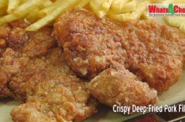 Crispy Deep-Fried Pork Fillet