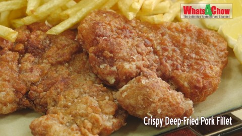 Crispy Deep-Fried Pork Fillet