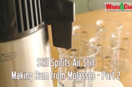 Still Spirits Air Still Episode 7 - Making Rum part 2