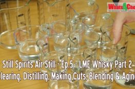 How to Make whiskey from LME