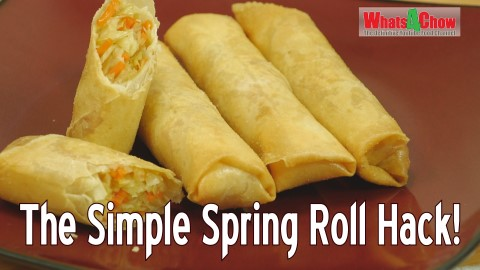 The Simple Spring Roll Hack - How to Make the Best Spring Rolls