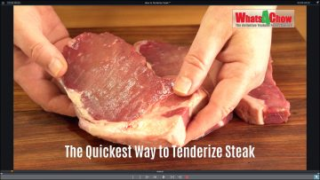 How to Tenderize Steak