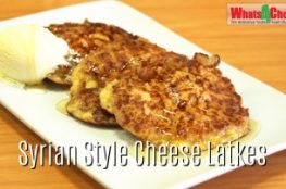 Cheese Latkes Recipe