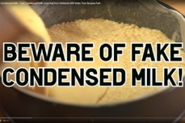 Fake condensed milk